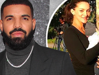 Drake Shares First Photos Of His Son's Face, Has Photoshoot With Baby Mama Sophie Brussaux
