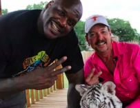 Shaq Claims He Was Not Friends With Joe Exotic, Says He Didn't Know All The Drama Going On