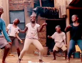 Drake Shares Video Of Africa's Masaka Kids Doing The 'Toosie Slide' Challenge
