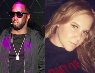 Fans Are Mad At Diddy For Inviting Amy Schumer To 'Family Meeting' About The Recent Police Killings