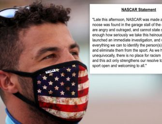 A Noose was Found in the Garage stall of Bubba Wallace at Talladega. NASCAR AND Bubba Respond