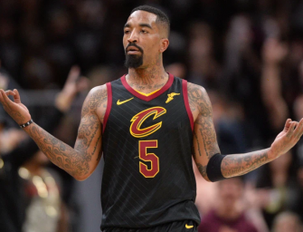 J.R. Smith Beats The Heck Out Of Car Vandal During Protests In Los Angeles (VIDEO)