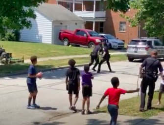 Cops In Ohio Play Street Football With Group Of Black Kids After Neighbors Call Police On Them