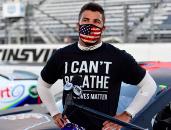 NASCAR Driver Bubba Wallace Reacts After FBI Investigation Determines No Hate Crime Was Committed