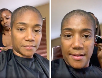 Tiffany Haddish Shaves Off Her Hair, Fires Back At Trolls Who Claim She's Losing Her Mind