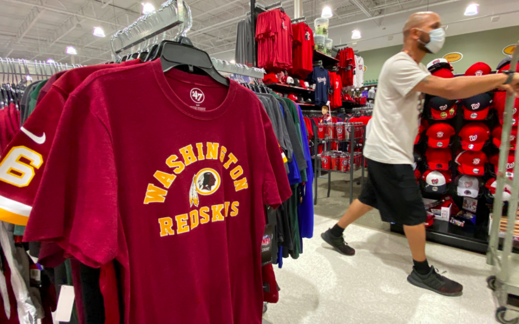 NFL's Washington Redskins Are Officially Changing Their Team Name And Logo