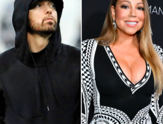 Eminem Is Super Stressed About Mariah Carey's Upcoming Memoir For ~Sexual~ Reasons