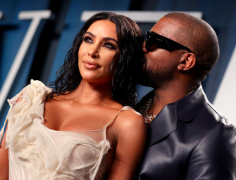 Kanye West Is Reportedly Refusing To Talk To His Wife Kim Kardashian