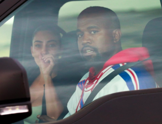 Kim Kardashian And Kanye West Finally Meet In Wyoming, And The Photos Are Heartbreaking