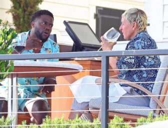 Kevin Hart Has Lunch Date With Ellen DeGeneres After Coming To Her Defense