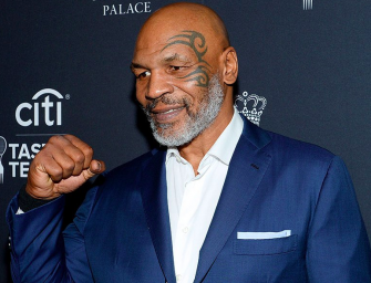 Check Out Mike Tyson In Action As He Completes Scary Looking 5-Punch Combo