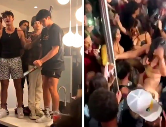 Los Angeles Mayor Shuts Off Power And Water At TikTok Star Bryce Hall's Home After Massive Party
