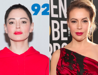 Rose McGowan Claims Alyssa Milano Made The 'Charmed' Set A Living Hell In Dramatic Twitter Battle