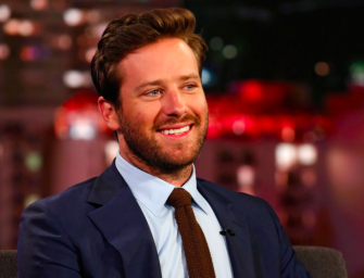 Armie Hammer Reveals He's Been Working In Construction For The Past Two Months