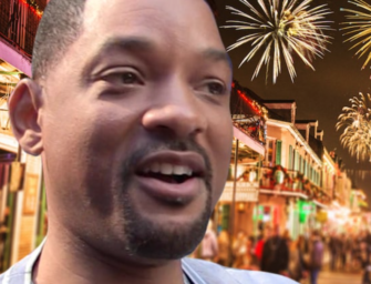 Good Guy Will Smith Donates $100k To City Of New Orleans So They Can Have Fireworks Display