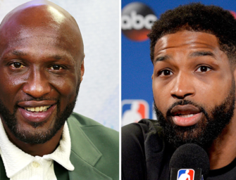 Lamar Odom And Tristan Thompson In Epic Battle To See Who Can Cheat On Khloe Kardashian The Most