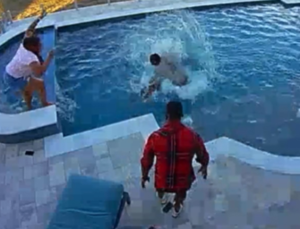Andre Drummond Saves His Son From Drowning, And It Was All Caught On Tape