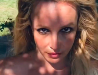 Britney Spears Goes Topless On Her Instagram To Prove She Didn't Get A Boob Job? Uh…OKAY?