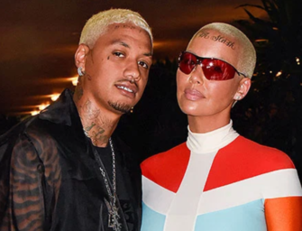 """Amber Rose Accuses Boyfriend Alexander """"AE"""" Edwards Of Cheating On Her With A Dirty Dozen"""