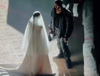 Kanye West Shocks Fans By Ending 'DONDA' Listening Event With Kim Kardashian In A Wedding Dress