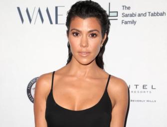 "Kourtney Kardashian Posts ""Unedited"" Swimsuit Photo, Then Deletes It…BUT WE STILL HAVE IT!"