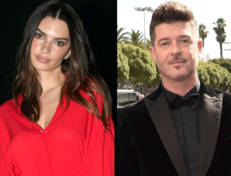 Emily Ratajkowski Claims Robin Thicke Groped Her While On The 'Blurred Lines' Music Video Set