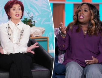 Sharon Osbourne Tries To Spill 'The Talk' Tea, But Really She Just Dumped It All Over Herself
