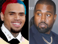 Chris Brown And The Rest Of The Internet Troll Kanye West's Bizarre Haircut