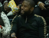 Floyd Mayweather Refuses To Take Photo With Dude Because His Nails Were Painted